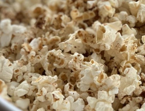 Maple Pumpkin Popcorn