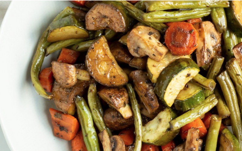 Roasted Veggies | Mipstick Nutrition