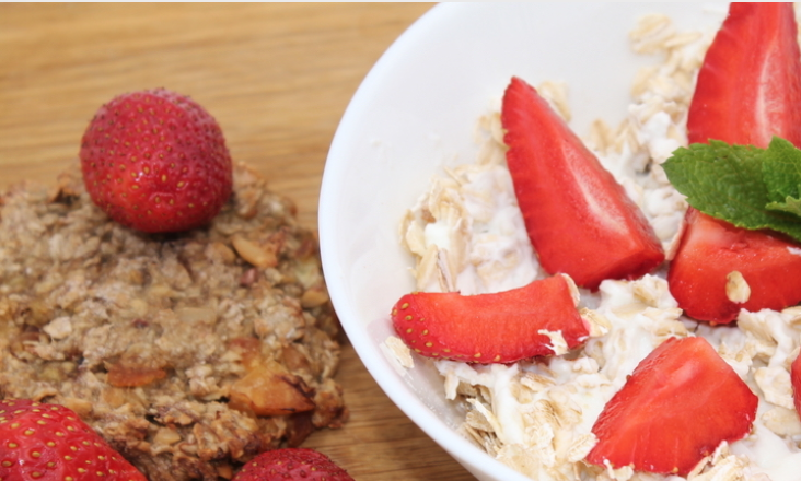 Strawberry Oatmeal Cookies | Mipstick Nutrition